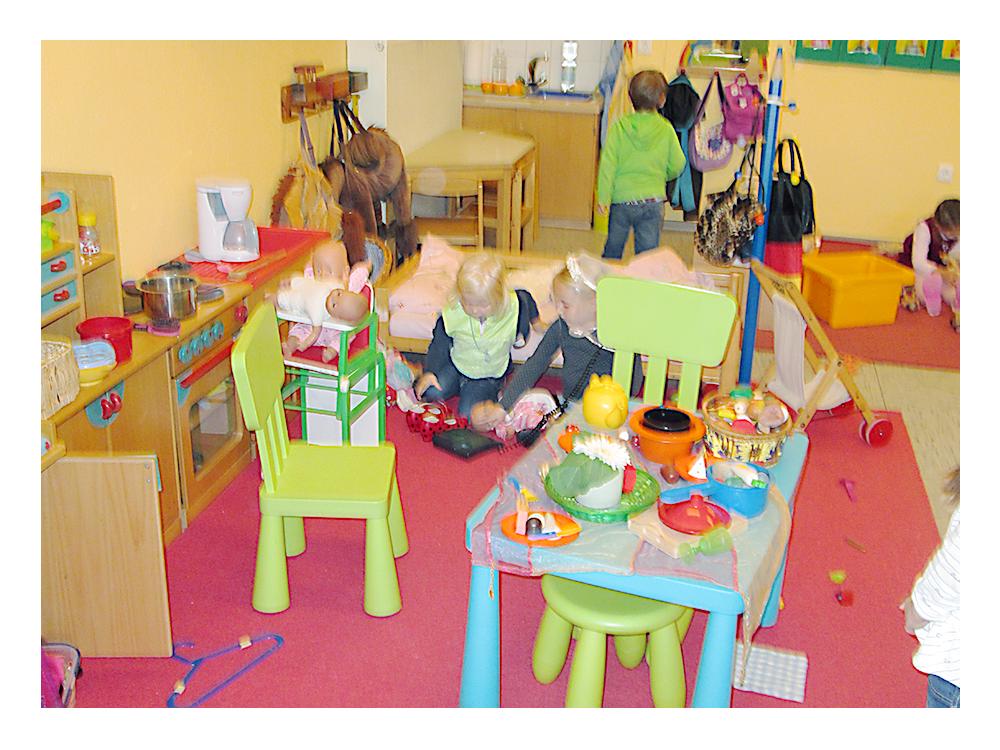 Chaos im Spielzimmer